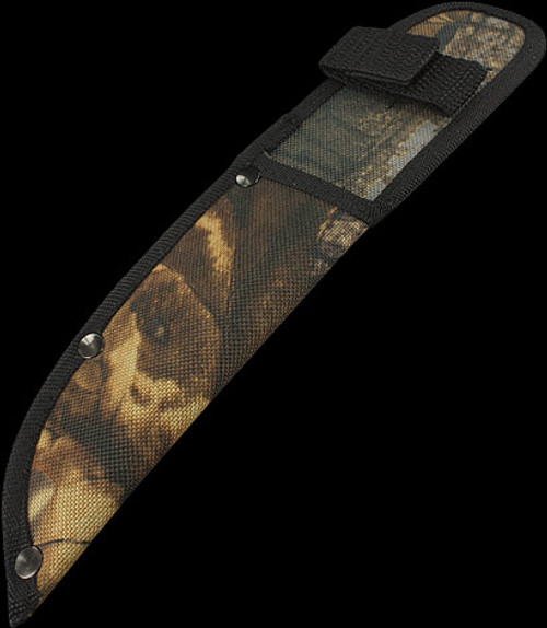 Camo Straight Sheath 5""