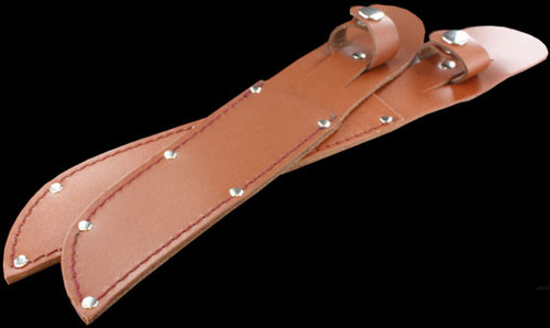 Carry All Fixed Blade Sheath Tan Leather