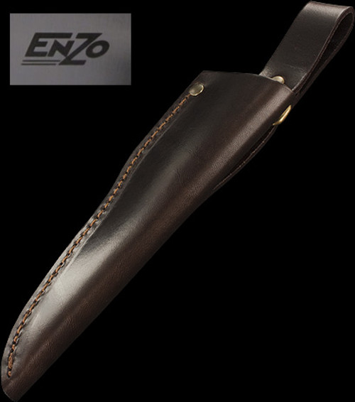 Enzo Leather Sheath for Trapper