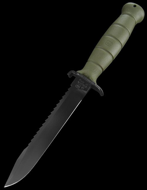 Glock Field Knife - Saw back