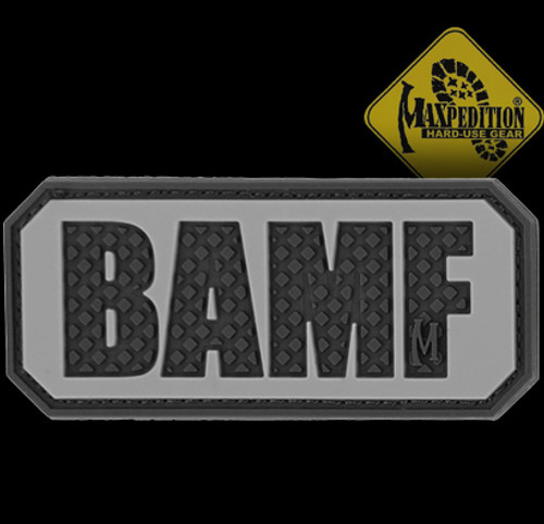 Maxpedition BAMF 3D PVC Morale Patch