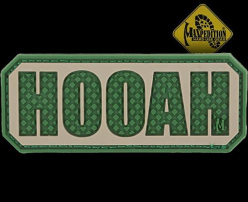 Maxpedition HOOAH 3D PVC Morale Patch