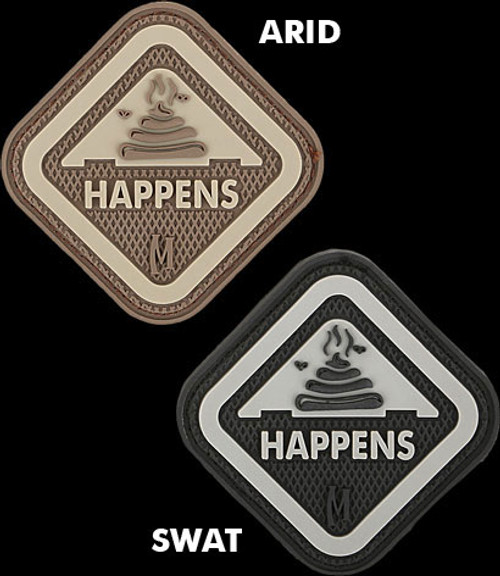 Maxpedition It Happens 3D PVC Morale Patch