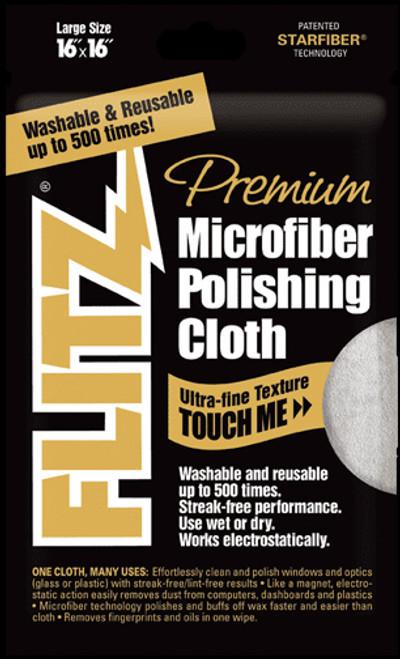 Flitz Premium Microfibre Polishing Cloth