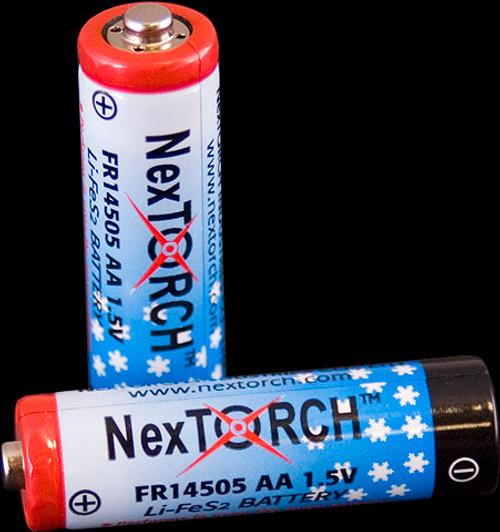 Nextorch Lithium AA Batteries