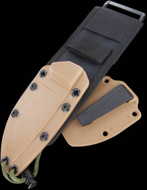 ESEE-3 Sheath w/MOLLE Back & Clip Plate
