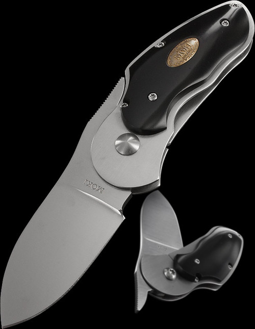 Moki Rabbit Black Micarta