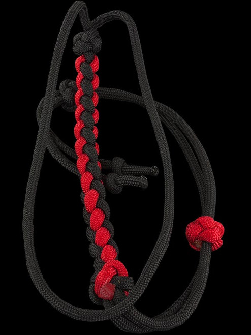 Essexman Paracord Wrist Lanyard - Red/Black