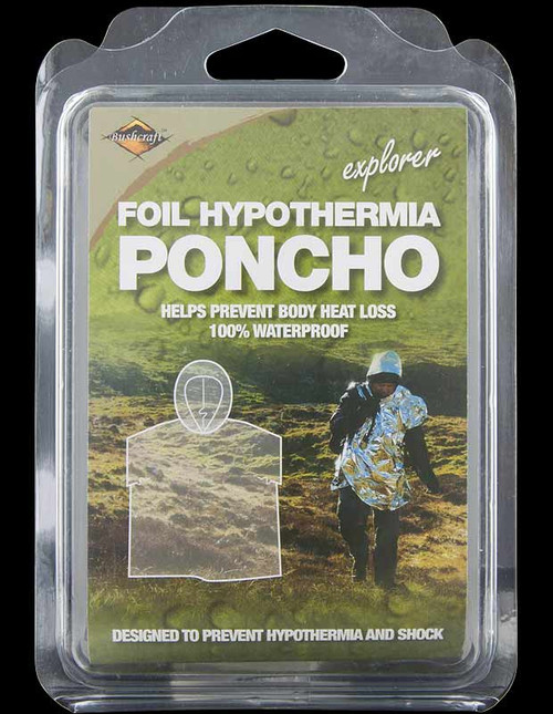 Bushcraft Emergency Foil Poncho