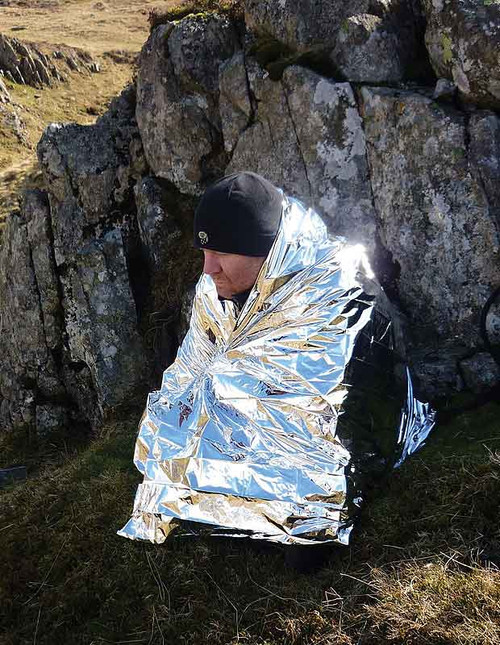 Bushcraft Foil Hyperthermia Blanket