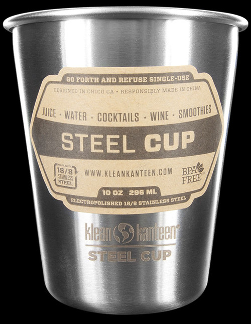 Klean Kanteen Steel Cup 295ml - 4 Pack