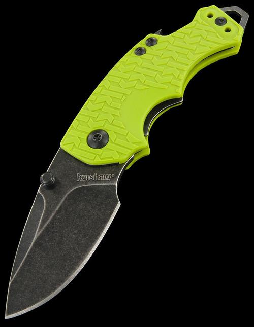 Kershaw Shuffle Blackwash Lime
