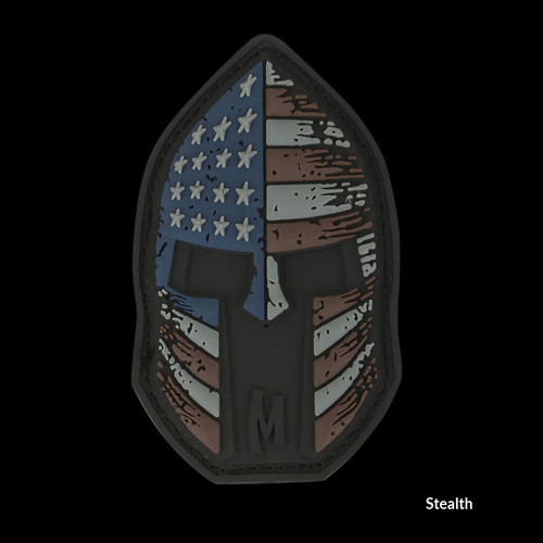 Maxpedition Stars and Stripes Spartan Helmet Patch