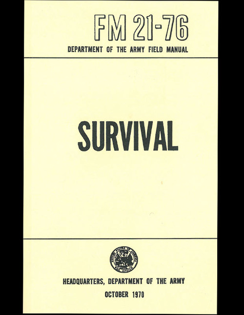 Department of the Army - Survival Manual