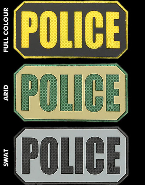 Maxpedition Police ID PVC Morale Patch