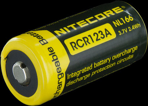 Nitecore RCR123 Rechargeable Battery