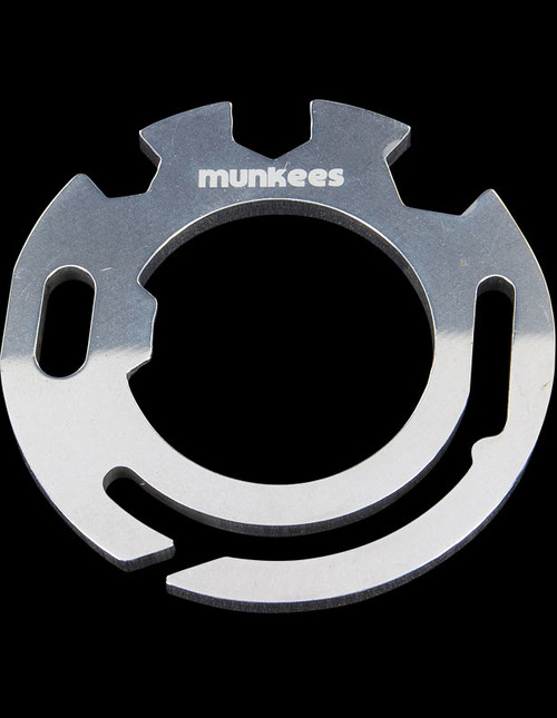 Munkees Stainless Steel Card Tool Round
