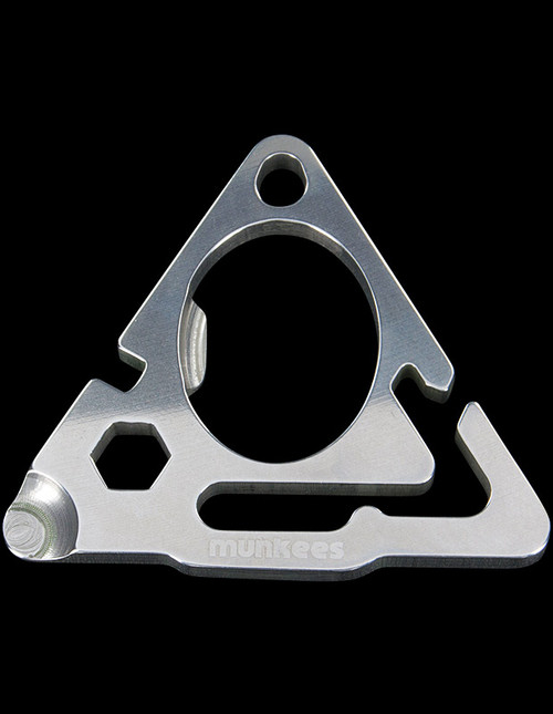 Munkees Stainless Steel Card Tool Triangle