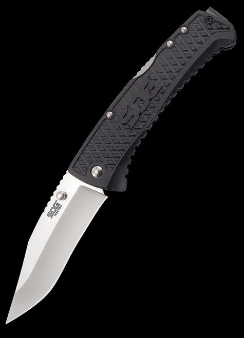 SOG Traction Clip Point