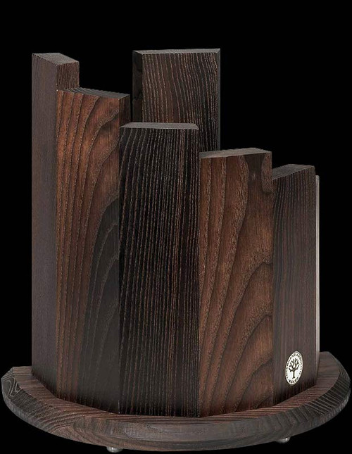Boker Ebony Ash Knife Block