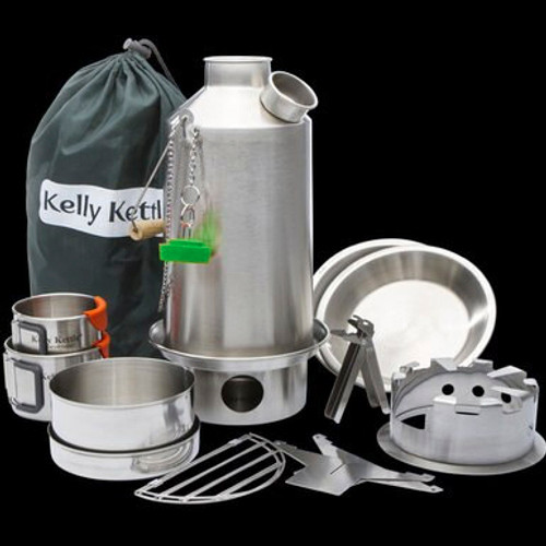 Kelly Kettle Ultimate Base Camp STEEL