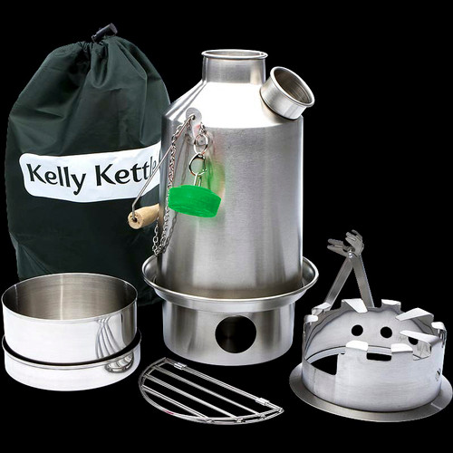Kelly Kettle Ultimate Scout Kit STEEL