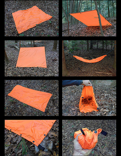 ESEE Orange Survival Signal Tarp