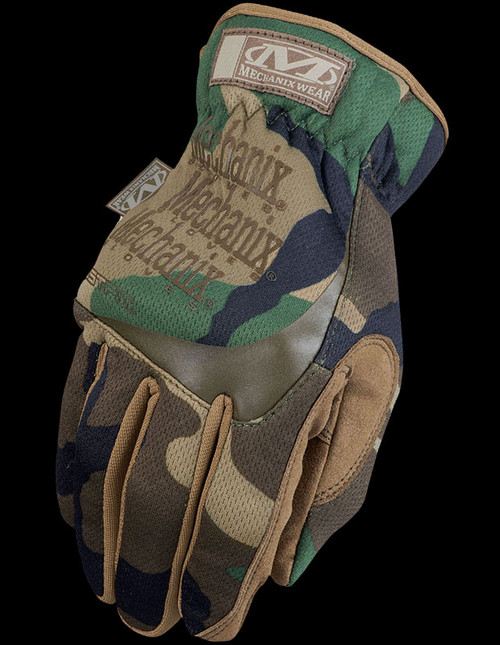 Mechanix FastFit Woodland Camo