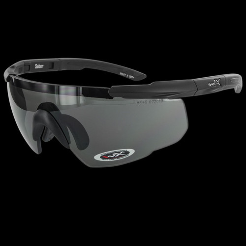 Wiley X Saber Advanced Grey/Clear/Rust Lenses