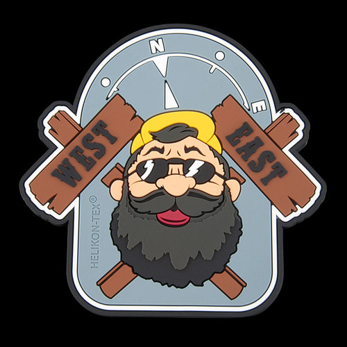 "Helikon-Tex ""Beardman Outback"" PVC Patch"