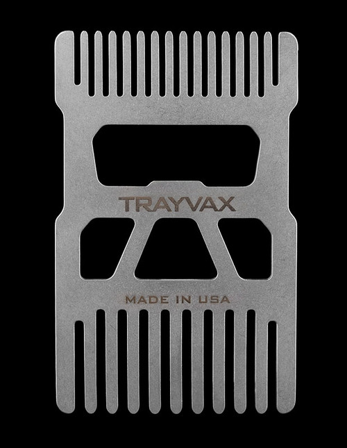 Trayvax Shift Wallet Comb