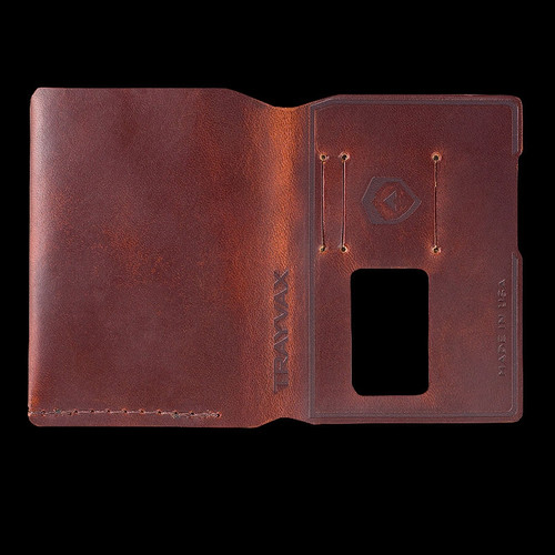 Trayvax Summit Notebook Bi-Fold Leather Sleeve