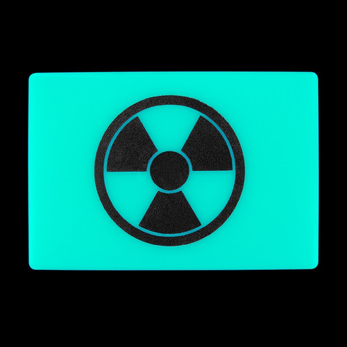 Tec Accessories Embrite Beacon Radioactive Aqua Patch