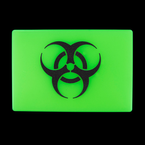 Tec Accessories Embrite Beacon Biohazard Green Patch