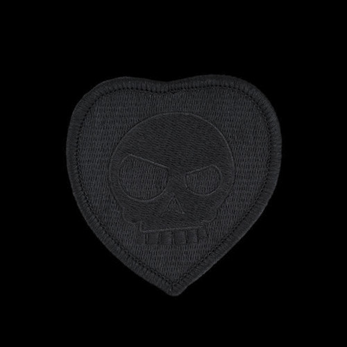 TAD Valentine Patch Blackout