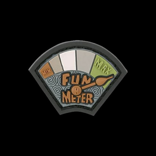 Maxpedition Fun Meter Patch