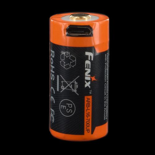 Fenix ARB-L16-700UP 16340 Battery for E18R