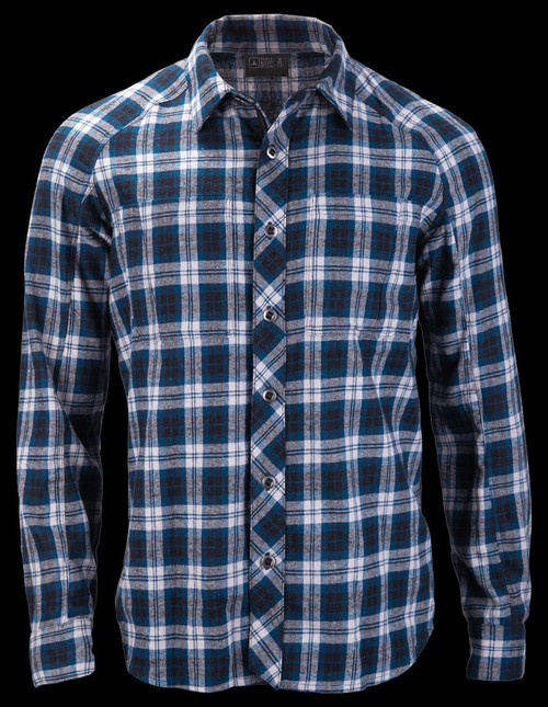TAD Sanction FX Shirt Midnight Plaid