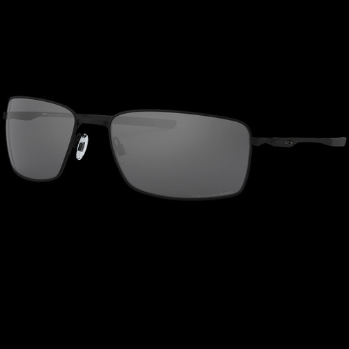 Oakley Square Wire Black Iridium Polarised