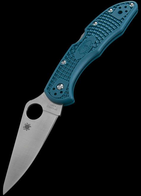 Spyderco Delica K390 FRN Blue
