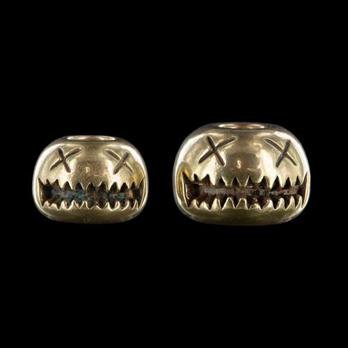 Audacious Concept Smiley Bead Brass