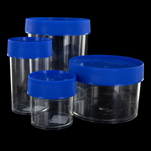 Nalgene Storage Jars Blue Lid