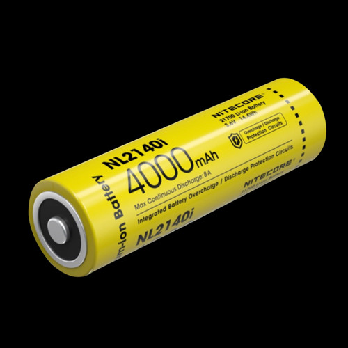 Nitecore 21700 i Series Li-ion Battery 4000mAh NL2140i