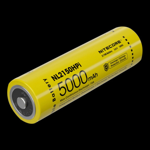 Nitecore 21700 Li-ion 15A Battery 5000mAh NL2150HPi