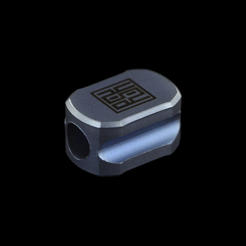 Real Steel Titanium Bead Column Blue
