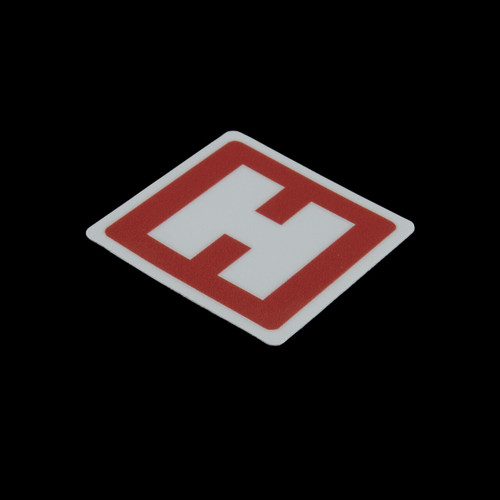 "Heinnie Haynes ""H"" Sticker"