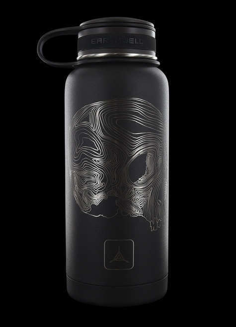 TAD Earthwell Topo Skull 946ml Insulated TAD Edition