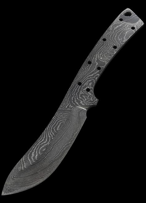 Alabama Damascus Skinner Blade Blank