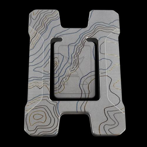 TAD Anso Matrix Card Holder Topo Titanium