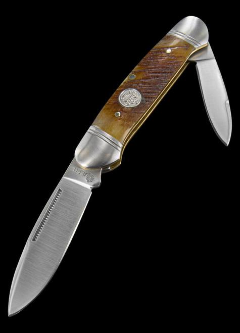 Queen Cutlery Canoe Sawcut Bone